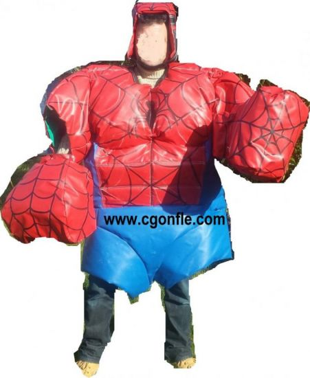 Costumes sumo super hero
