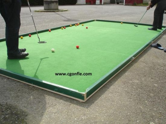 Billard golf géant
